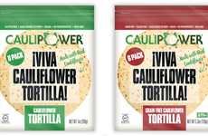 Free-From Cauliflower Tortillas