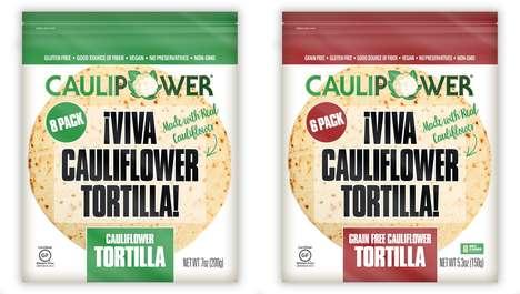 Free-From Cauliflower Tortillas