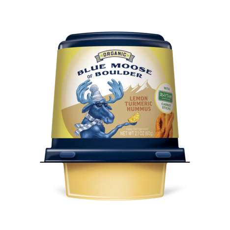 Organic Hummus Cups