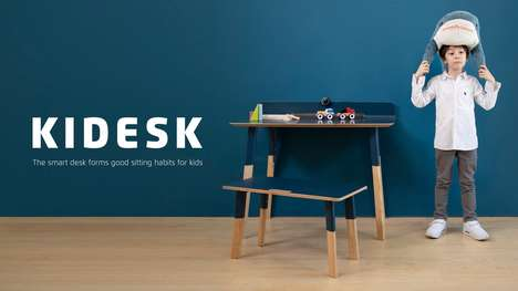 Posture-Improving Desks