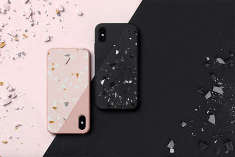 Handmade Speckled Phone Accessories - Native Union's Terrazzo Collection Delivers Cases and Chargers