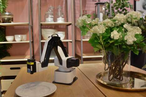 All-in-One Robotic Desktop Arms