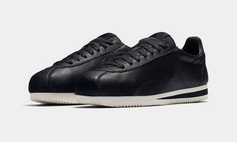 Discreetly Branded Athletic Footwear