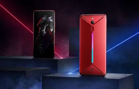 Futuristic Gamer Smartphones - The ZTE Nubia Red Magic Mars will Launch in Europe and the US