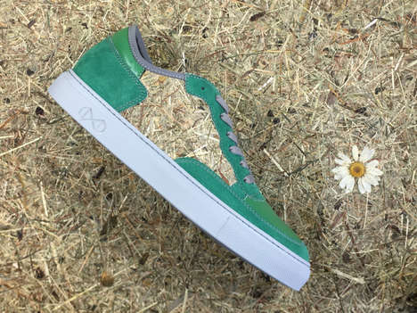 Sustainable Hay-Based Sneakers