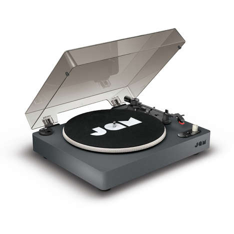 Techy Bluetooth Turntable Designs