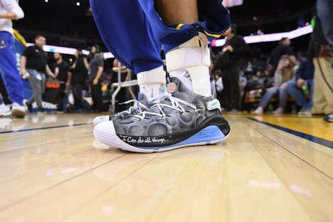 Charitable Custom Basketball Sneakers