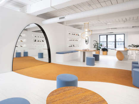 Contemporary Brooklyn Footwear Showrooms