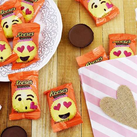 Emoji-Themed Peanut Butter Cups