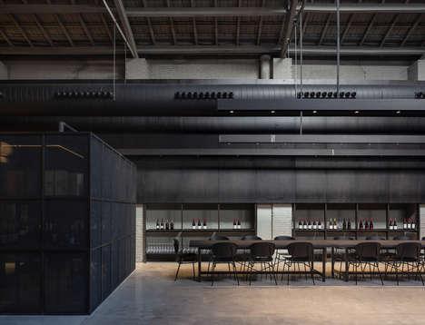 Exquisitely Elegant Restaurant Interiors