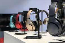 Wireless Charging Headphone Stands