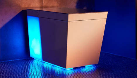 Immersive Colorful Smart Toilets