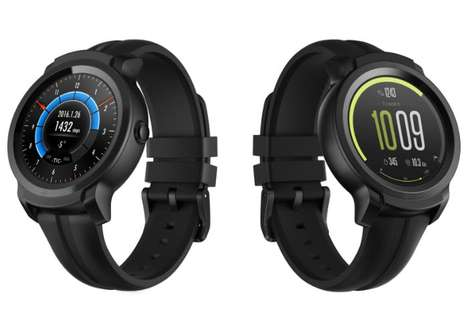 Robust Multi-Lifestyle Smartwatches - The TicWatch E2 and S2 Showed Off Great Features at CES 2019