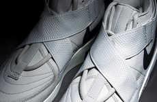 6b5618153f2b Animalistic Print Paneling Sneakers : Blue Leopard