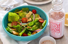 Herbaceous Rosé Vinaigrettes - Trader Joe's Organic Rosé Vinaigrette is Made with Rosé Wine Vinegar