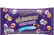 Shimmery Chocolate Eggs