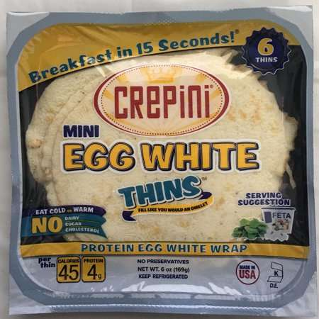 Healthy Egg White Wraps