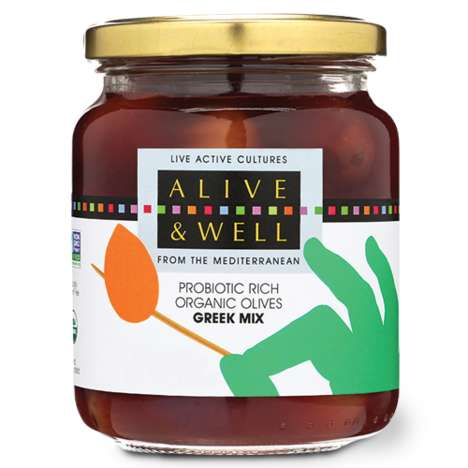 Probiotic-Packed Olives