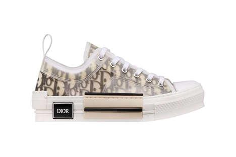 Luxe Monogram Translucent Sneakers