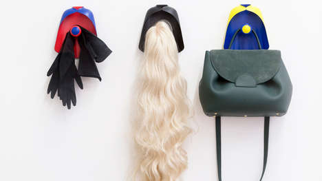 Superhero-Inspired Coat Hangers - Constance Guisset Produces Whimsical & Playful Coat Hanger Designs