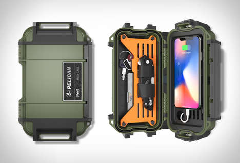 Adventurer Technology Protection Cases - The Pelican Ruck Case Keeps Small Essentials Secure
