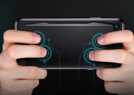 Touchpad Smartphone Game Controllers - The HandScape 'MUJA' Touchpad Controller is Customizable