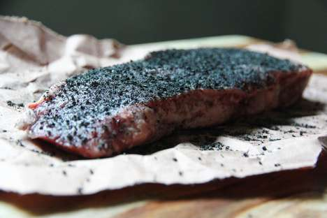 Charcoal-Infused Meat Rubs - Hardcore Carnivore's Black Charcoal Meat Rub Adds Smoky Flavor