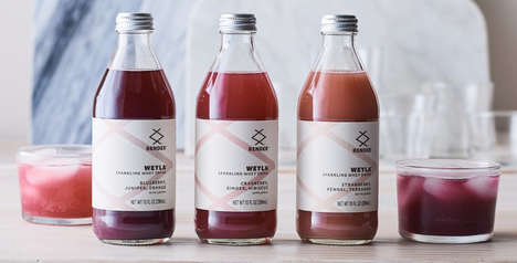 Sparkling Whey Drinks - Render's 'Weyla' Blends Fruit, Herbs, Botanicals and Whey Byproduct