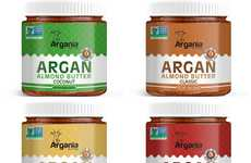 Argan Oil Nut Butters