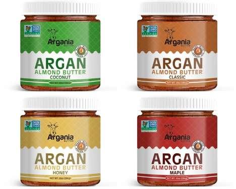 Argan Oil Nut Butters