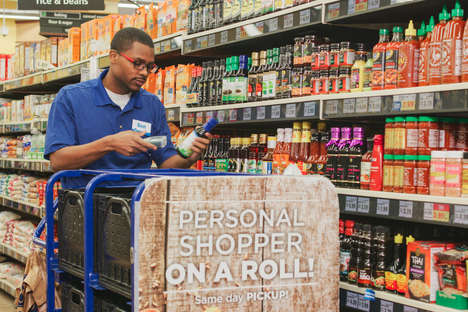 Digital Grocery Stores - Kroger and Microsoft are Transforming the In-Store Shopping Experience