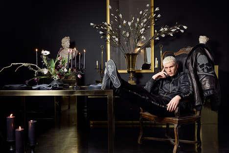 Crystal-Encrusted Streetwear Series