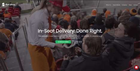 Arena In-Seat Service Solutions - SeatServe Provides Another Incentive for Fans to Enjoy Games Live