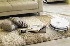 Home Surveillance Robot Vacuums