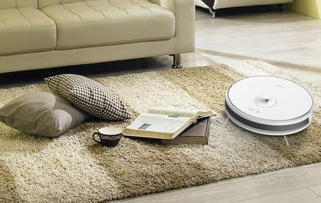 Home Surveillance Robot Vacuums
