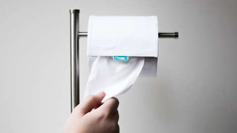 Hybrid Flushable Bathroom Wipes