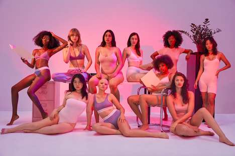 Laidback Intimate Wear - The New American Apparel Lingerie Line Features Approachable Styles
