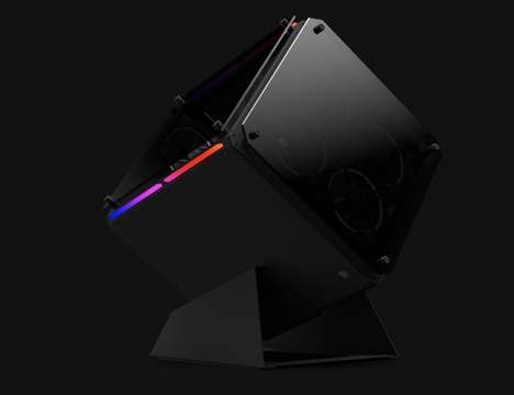 High-End Cubic Gaming PCs