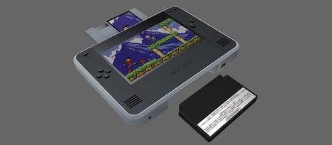 Handheld Cartridge Gaming Consoles