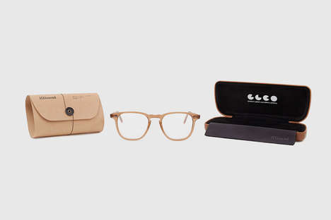 Neutral-Toned Eyewear Frames