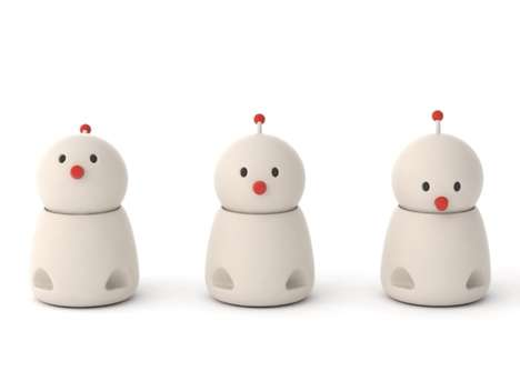 Emotional Family Communication Robots
