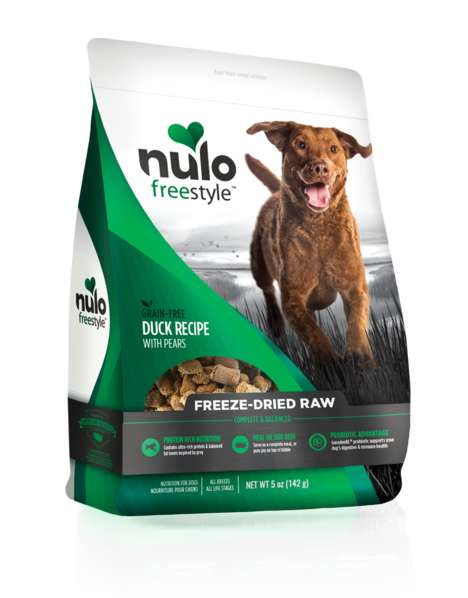 Gourmet Freeze-Dried Pet Food - The Nulo Freeze-Dried Raw Range is Infused with Probiotic Nutrients
