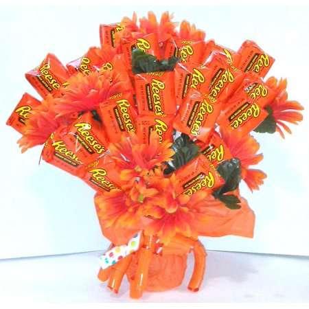 Peanut Butter Cup Bouquets