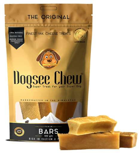 Himalayan Yak Cheese Treats - Dogsee Chew Shares All-Natural, Hardened Cheese Treats for Dogs