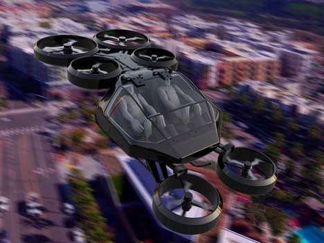 Hexa-Rotor Urban Vehicles
