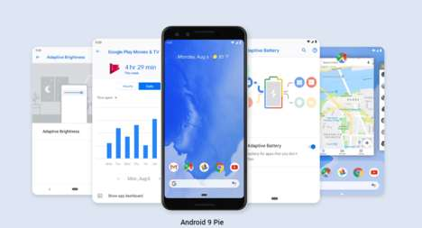 Adaptive Smartphone Systems - Android 9 Pie Prompts Changes Based on a User's Habits and Preferences