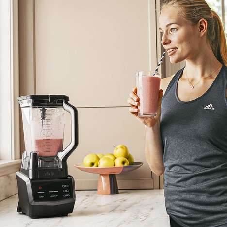 Intelligent Preparation Blenders - The Ninja Smart Screen Blender Has 1,000 Watts of Power
