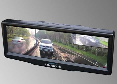 Multi-Camera Rearview Screens
