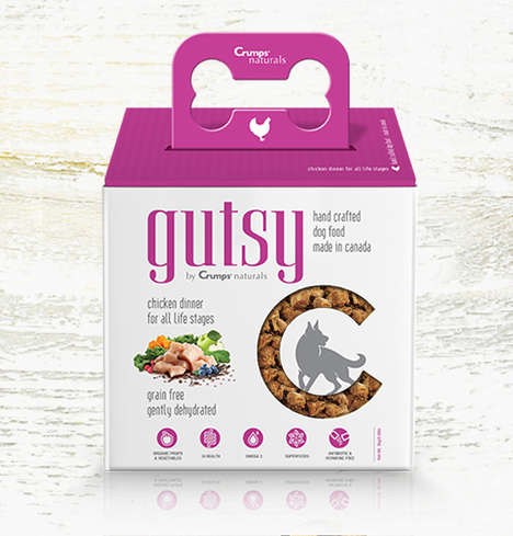 Gut Health-Improving Dog Food - The Crumps' Naturals 'Gutsy' Range Addresses Digestion