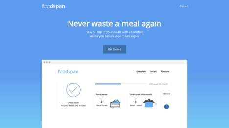 Food Waste-Eliminating Apps - The 'Foodspan' App Reminds Users to Eat Meals Before They Expire